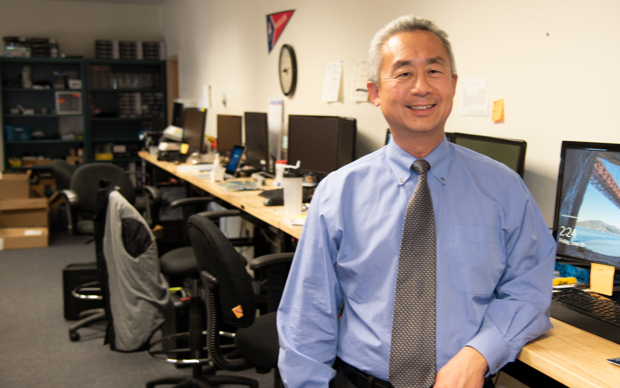 Photo of SASG's director Steven Chang
