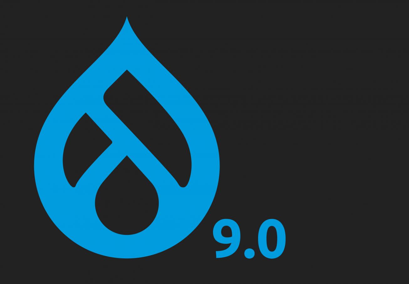 Drupal 9 logo